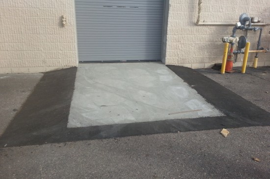 Forklift Ramp After