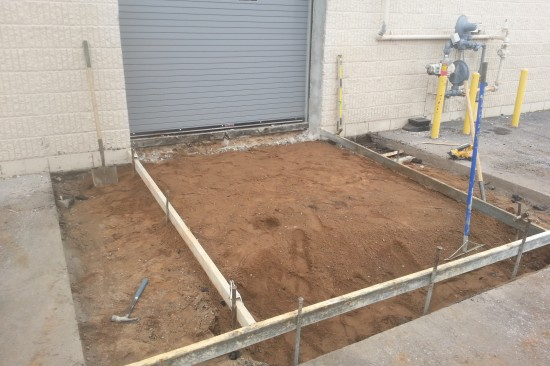Forklift Ramp Before