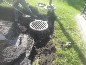 Storm Sewer Repair During