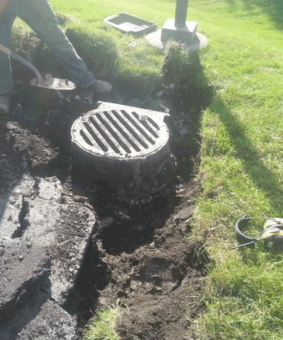 Storm Sewer Repair During