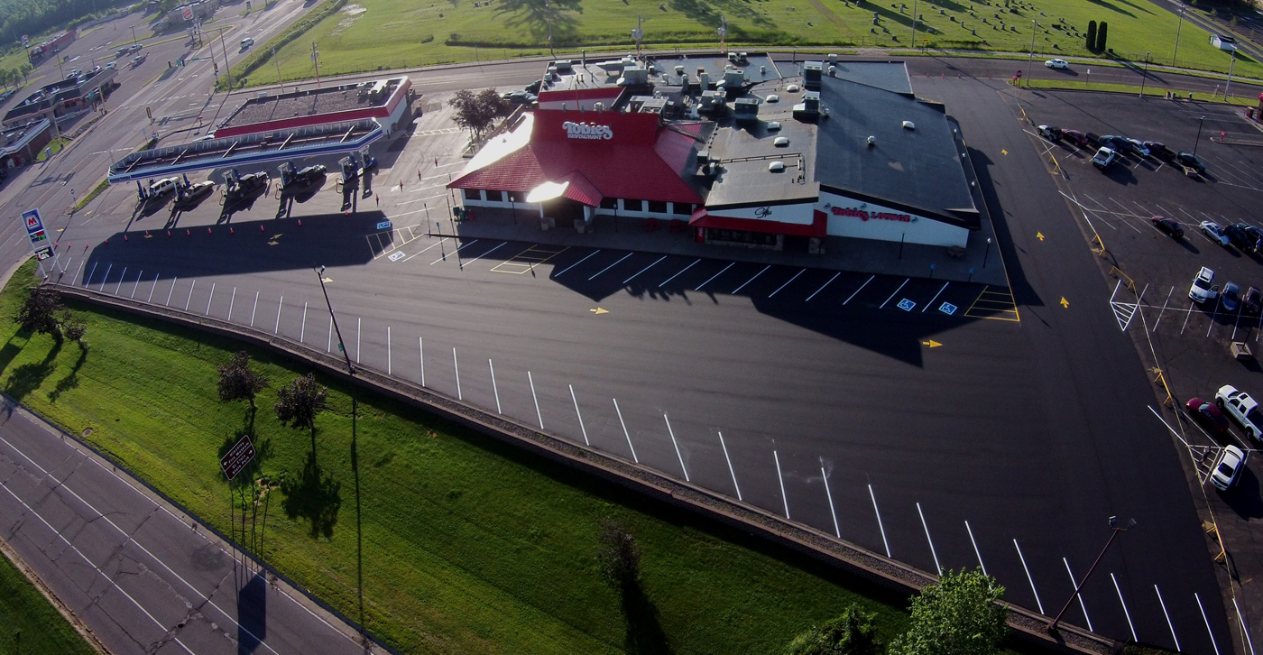 Commercial Asphalt Paving & Sealcoatoing