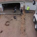 Concrete Apron Before