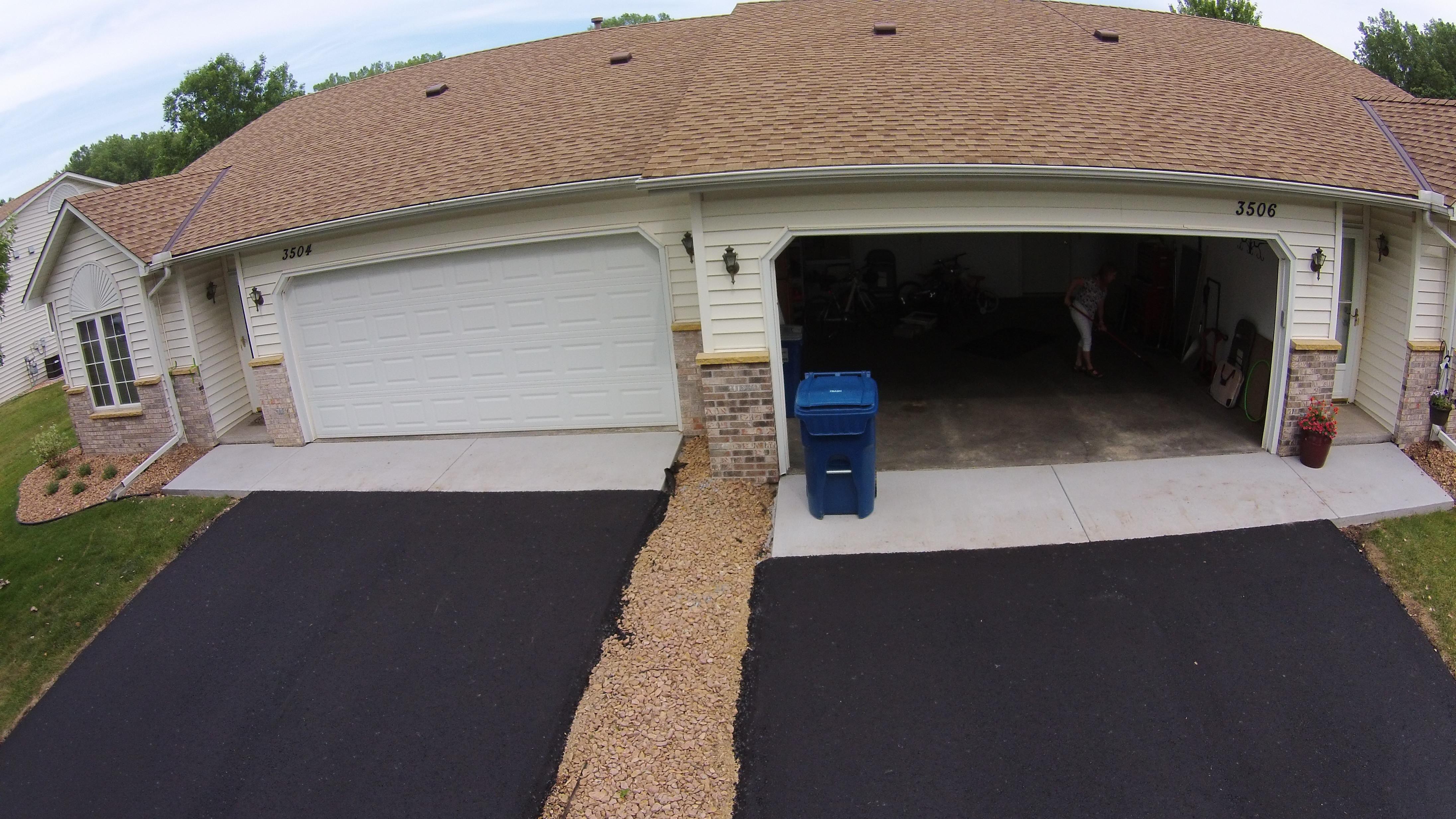 Concrete Apron After