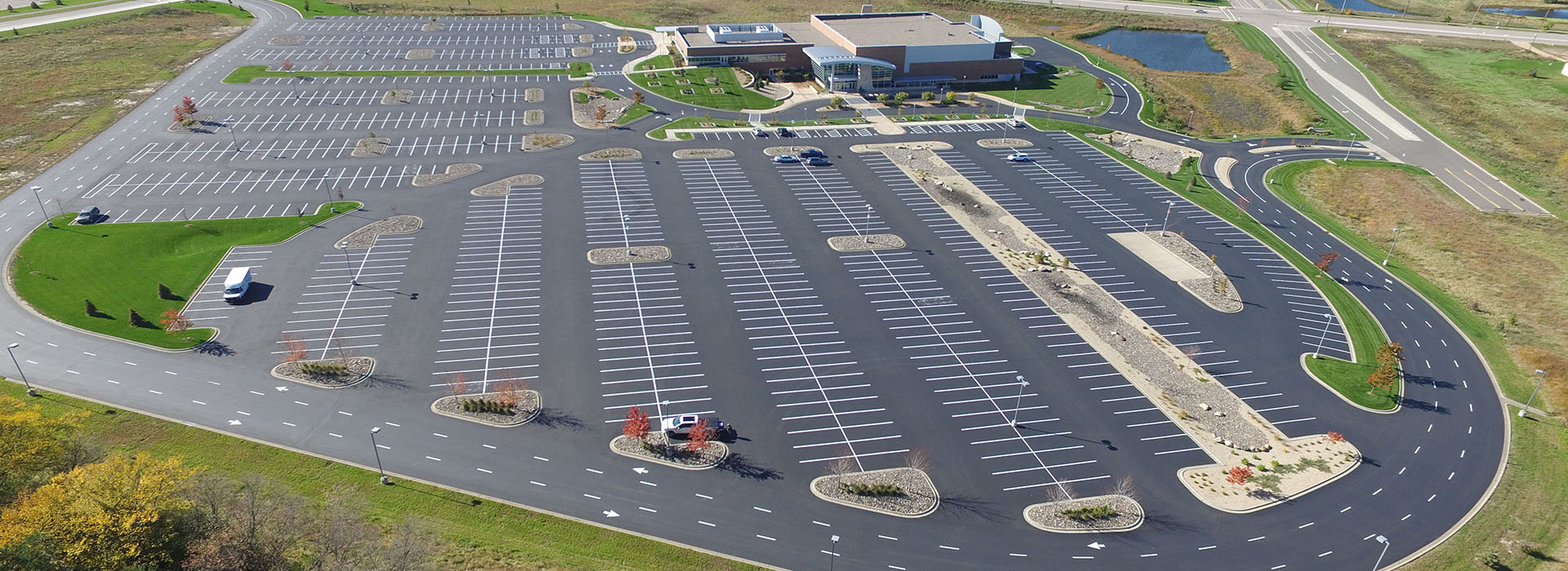 Commercial Asphalt Paving & Sealcoating